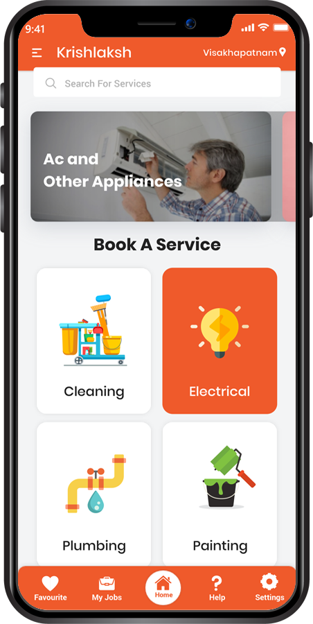 home services app in India