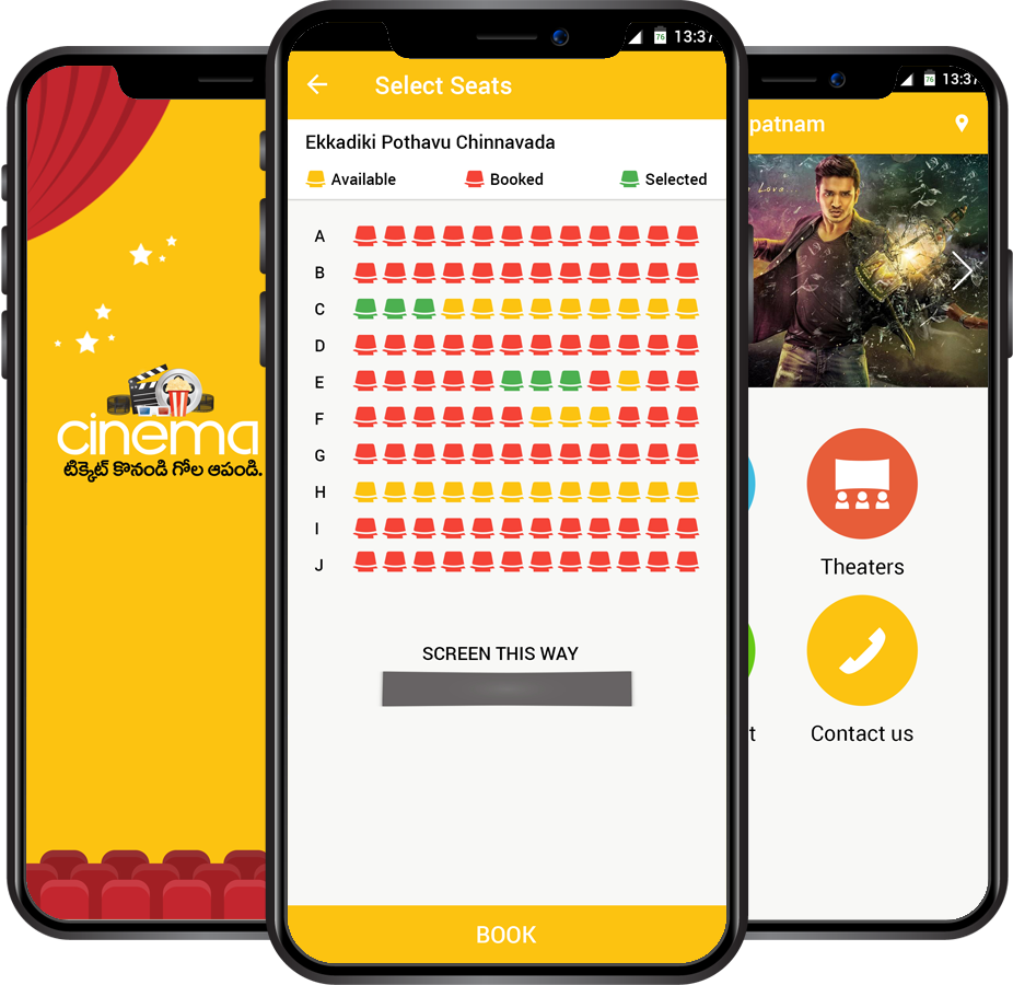Online Movie Ticket Booking App Development Company