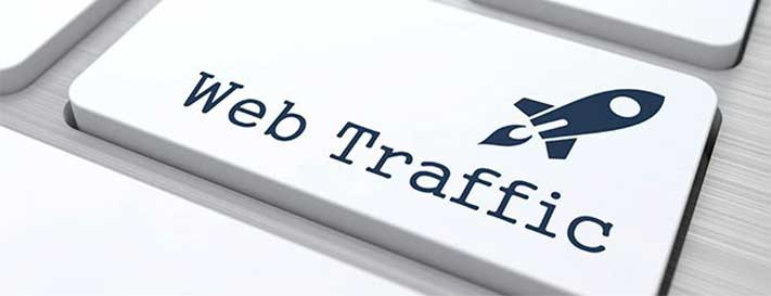 organic traffic to website