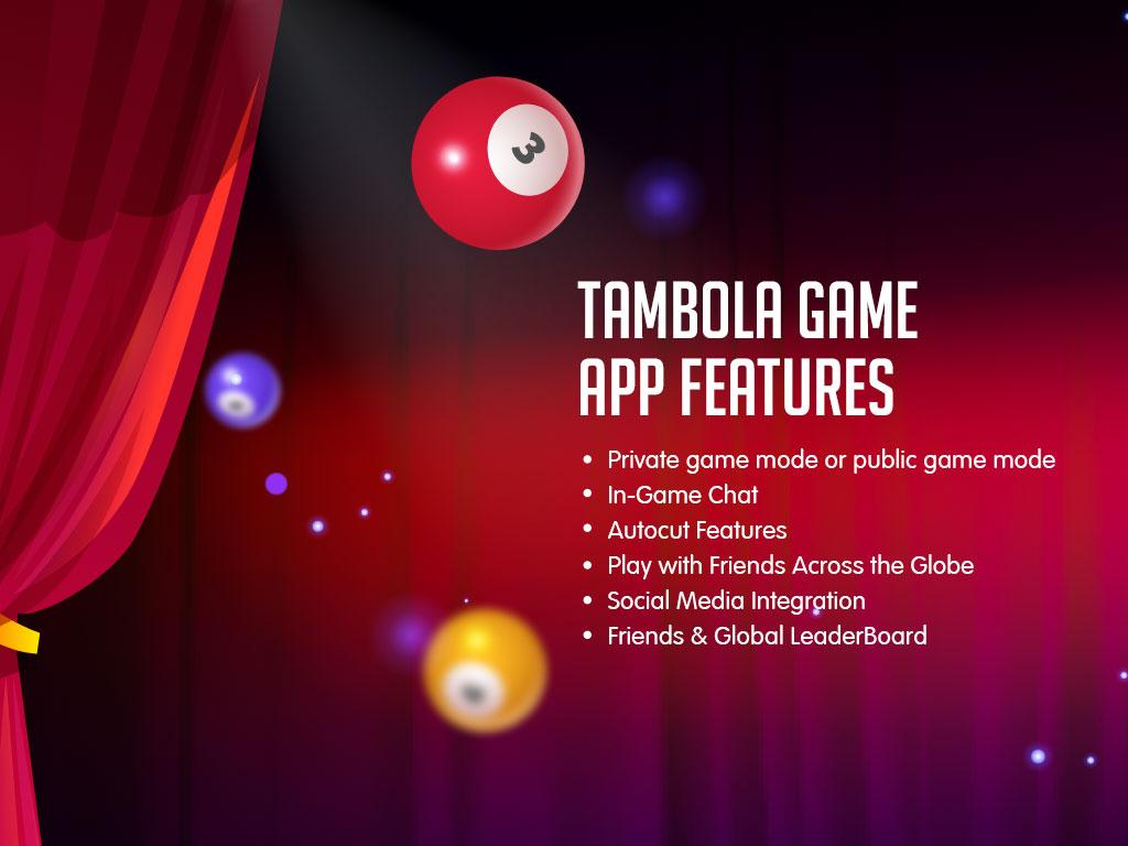 Tambola game App Feature