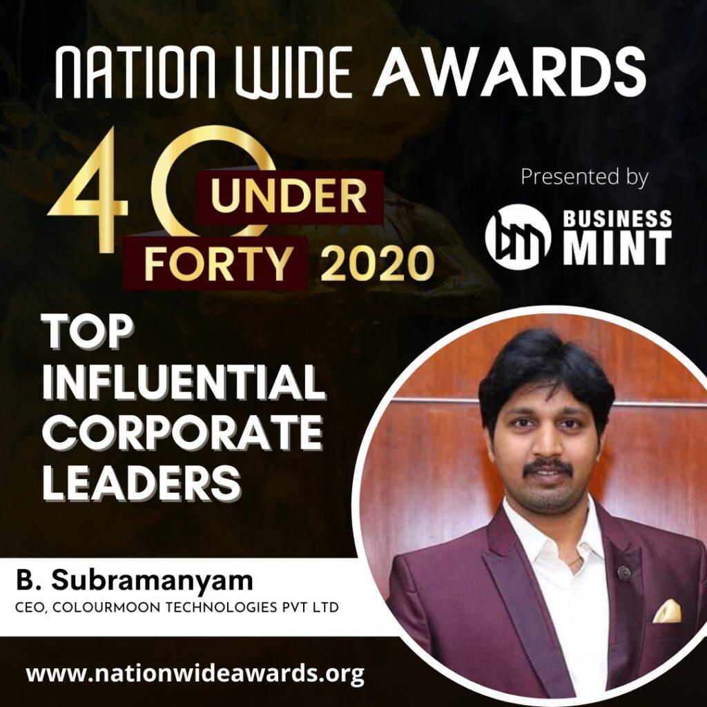 Nation wide awards 2020