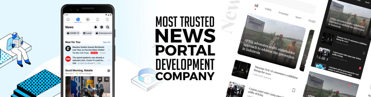 news portal development company