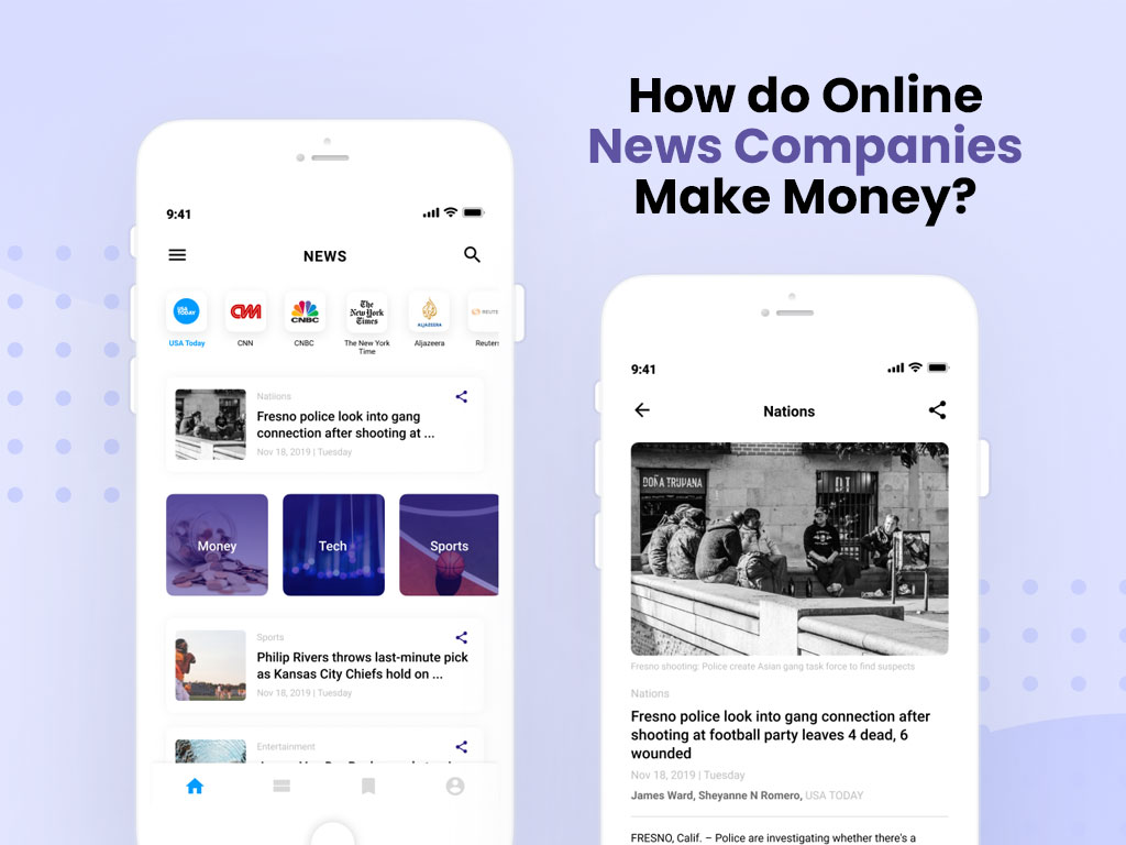 how to make money through news portal