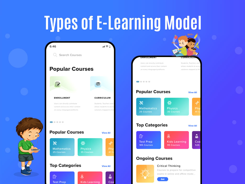 Types of eLearning model