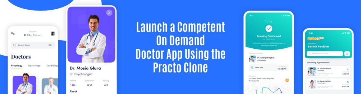 Practo Like App Development in India