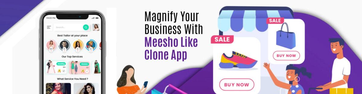 Online reselling appmeesho app solution