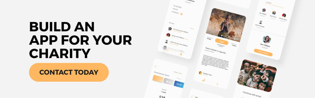 Build app for your charity