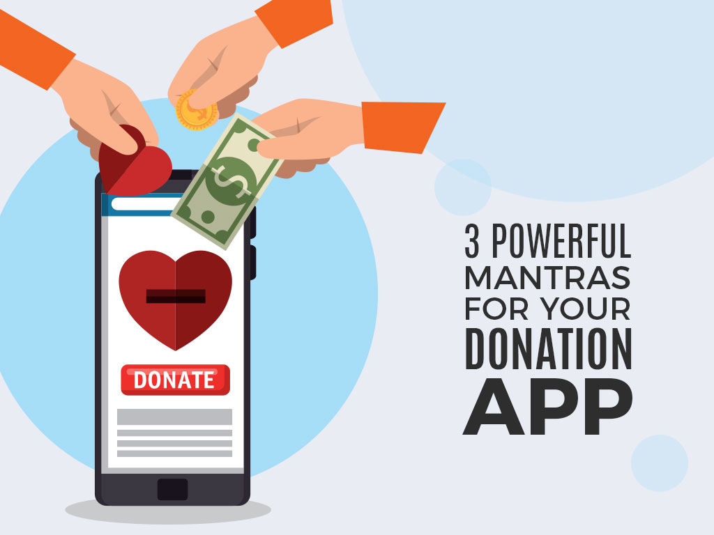 donation app development services
