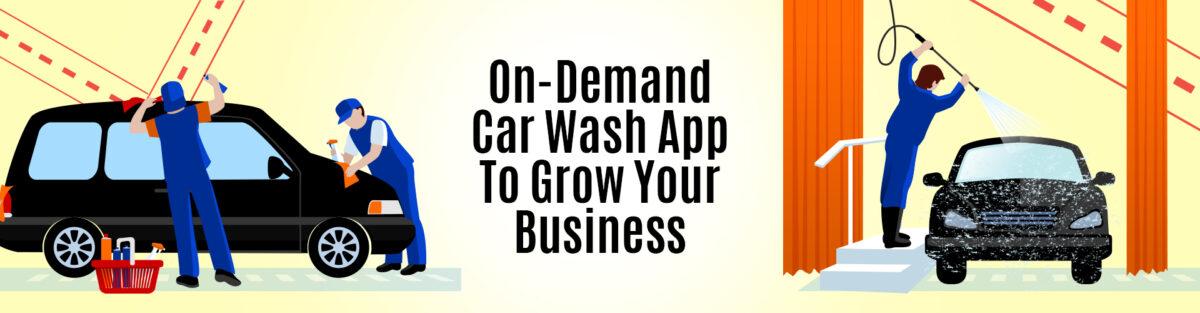 Car wash app development company