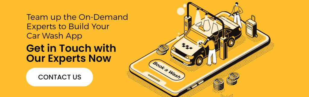 on demand car wash app development in India