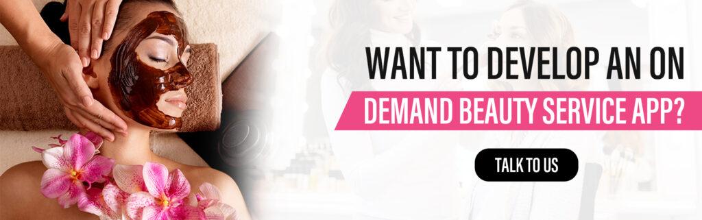 On demand beauty app developers